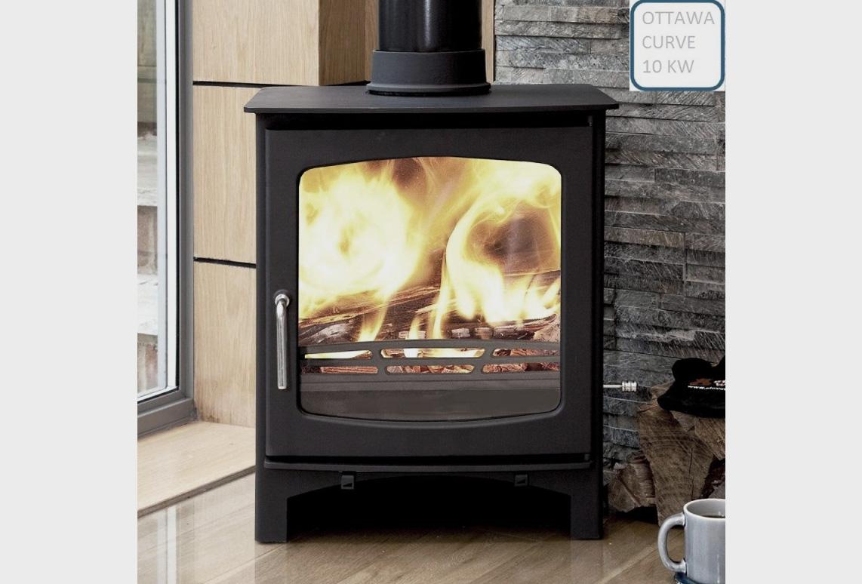 Ottawa Curve 10 KW fireplace