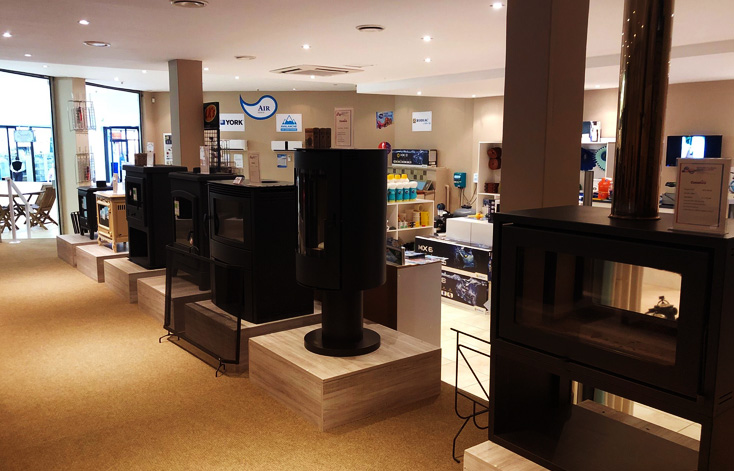 the pool and fire space showroom in somerset west